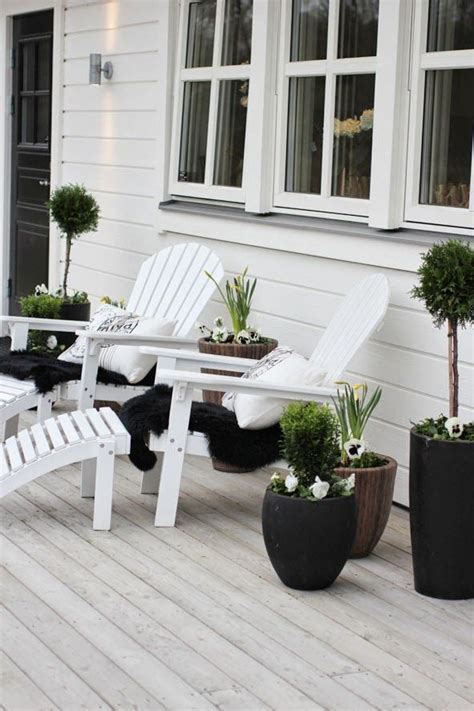 white deck ideas  pinterest outdoor dining
