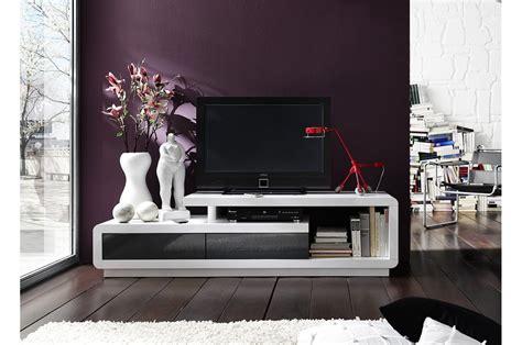 Meuble De Salle De Bain Gris 4898 meuble tv laqu 233 design blanc ou blanc gris pour meuble tv