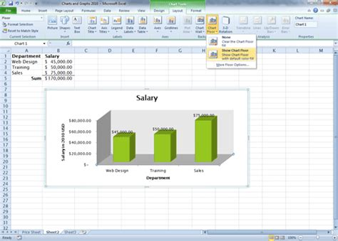 chart layout in excel 2010 comma training page 128