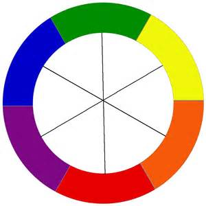 complementary paint colors color schemes color wheel basics craft thyme