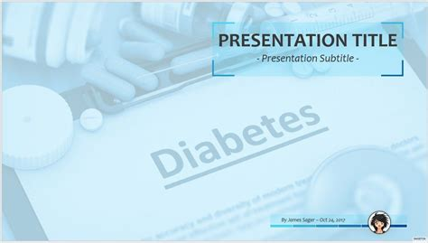 Free Diabetes Ppt 73637 Sagefox Powerpoint Templates Diabetes Powerpoint Template