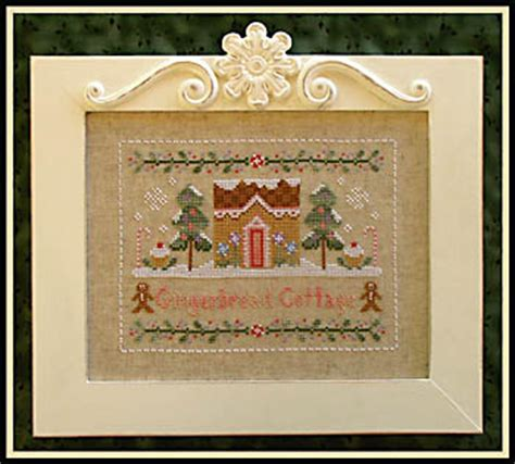 country cottage cross stitch country cottage needleworks gingerbread cottage cross