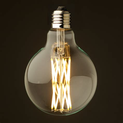 10 Watt Dimmable Filament Led E27 Clear 95mm Clear Led Light Bulbs