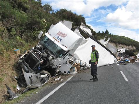 the accident accident scenes 49 fatal truck vs truck sh5 taupo