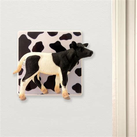 decorative novelty decorative novelty cow light switch turn the cow to turn
