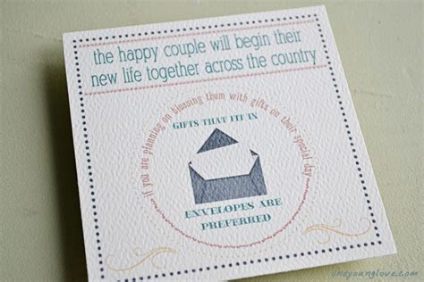 how much cash for wedding gift wedding invitations one young love