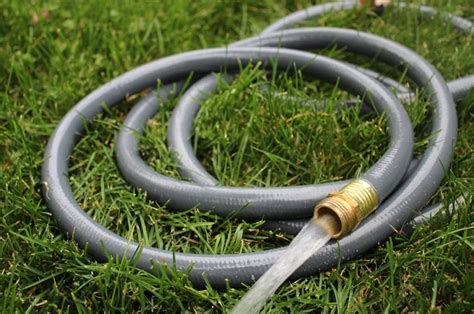 fix  garden hose raise  garden musings