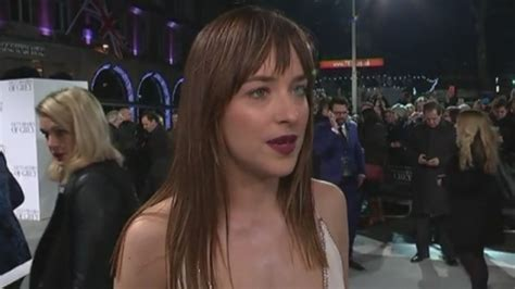 fifty shades of grey film premiere london fifty shades of grey film premiere in london itv news