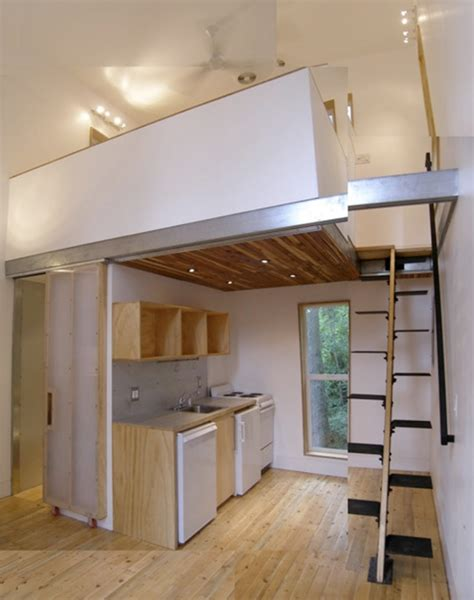 Loft Houses | 12x12 house on pinterest small spaces compact kitchen