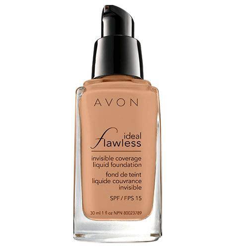 Foundation Avon Avon Ideal Flawless Invisible Coverage Liquid Foundation