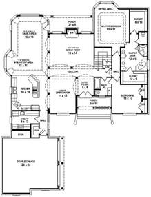 open floor plans with pictures 654737 great 3 bedroom 3 bath house with open floor plan house plans floor plans home