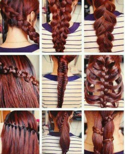 all kinds of hair style that have braides 17 best images about 2 strand overlap or braids updo s on