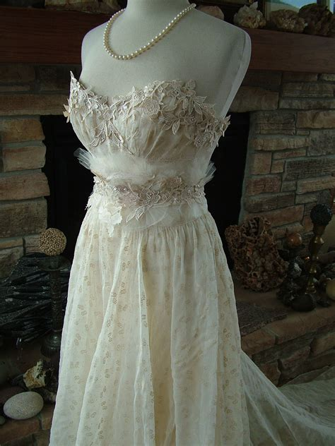 Vintage Wedding Dresses 1930 S wedding dress 1930s vintage gown restyled by