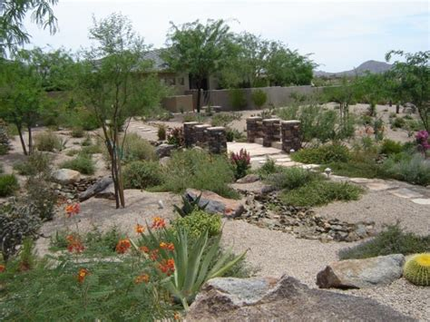 Backyard For by Desert Landscaping Ideas To Make Your Backyard Look