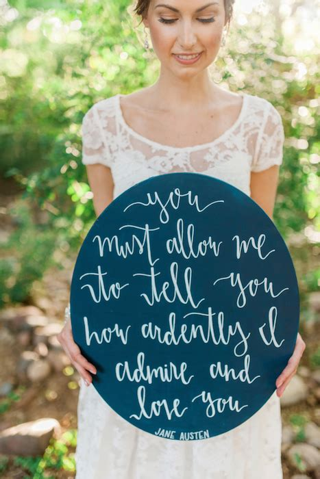 Wedding Quotes Garden by 10 Ways To Use Quotes On Your Wedding Day
