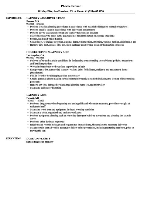 Od Consultant Cover Letter by Laundry Attendant Sle Resume Od Consultant Cover Letter