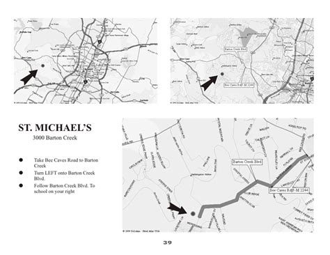 printable local area maps abua map to st michaels academy