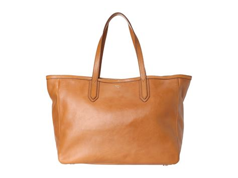 Fosil Totte Bag 2 fossil sydney tote camel bags shipped free at zappos