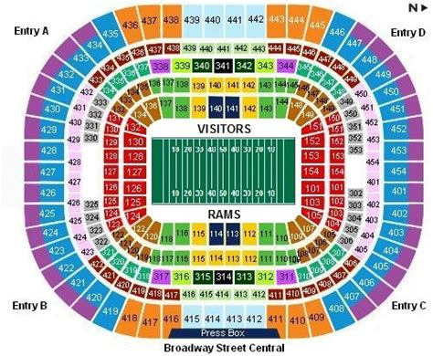 st louis rams seating chart unique table seating ideas calla airbus industrie