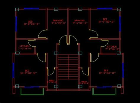 how to draw floor plan in autocad do 2d floor plan and elevation in auto cad for 163 5