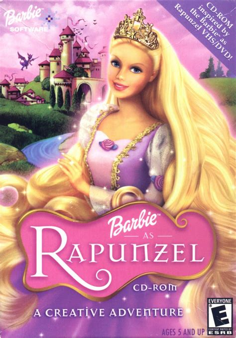 film barbie rapunzel in romana barbie as rapunzel a creative adventure for windows 2002