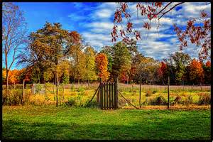 the garden of with the fall of farm garden in fall edward paintography