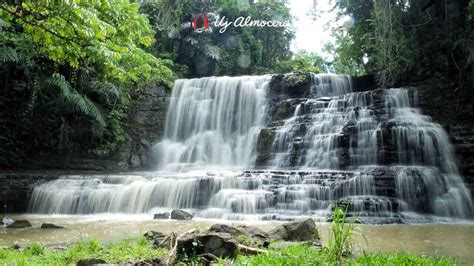 the drapery falls merloquet falls zamboanga s curtain like cascades