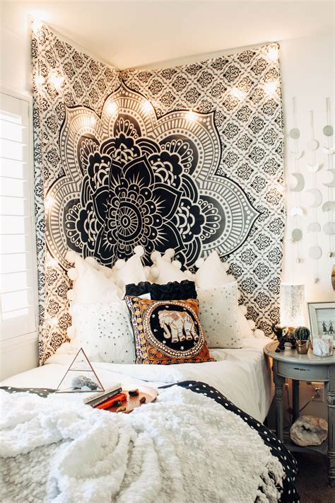 bedroom tapestry the fame mandala tapestry bedrooms dorm and room ideas