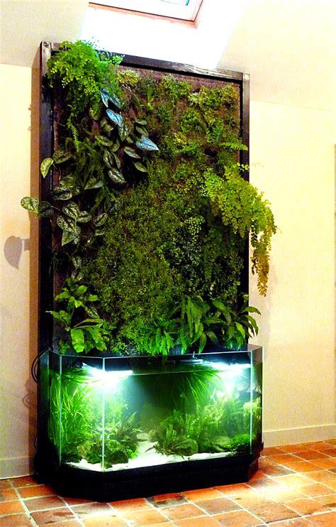 Aquarium Design Ideas by Aquaponie Et Mur V 233 G 233 Tal Nature Design