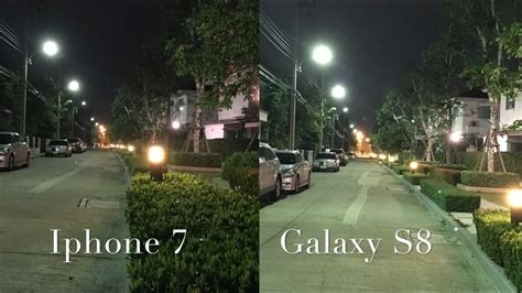 samsung galaxy   iphone  camera  light review