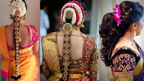south indian hairstyles youtube indian bridal hairstyles step by step perfect for wedding