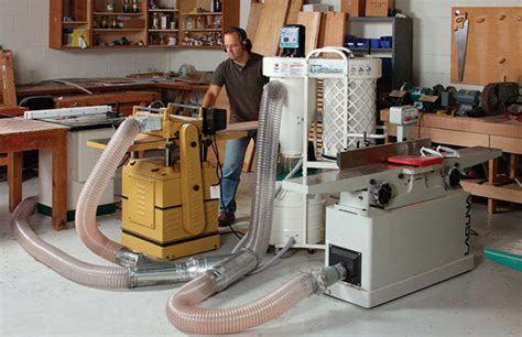 dust collection finewoodworking