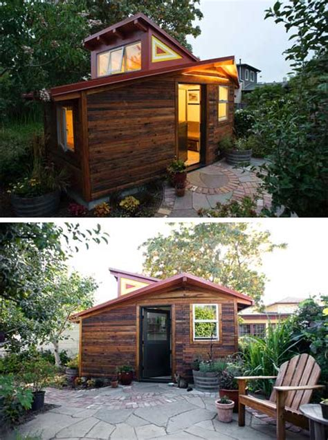 The Cottage Studio by Deeds Cottage A Small Studio Salvaged And Recycled