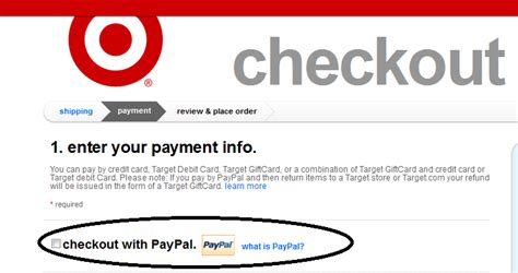 target card make a payment buyer beware target and paypal no refund if you pay