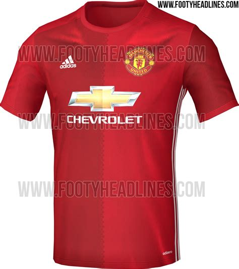 Jersey Manchester United 2016 2017 manchester united adidas jersey 2016 2017
