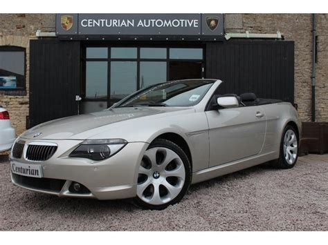 used bmw convertibles used bmw 6 series convertible for sale uk autopazar