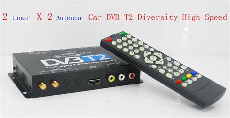 Nexdrive Dvb T2 Diversity Car Pay Tv Paket Family 6 Bulan 2x2 dvb t2 car high speed diversity receiver for thailand russia vcan