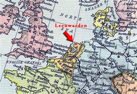 netherlands friesland map map leeuwarden gallery