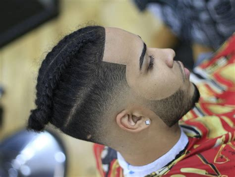 how to taper hair step by step man braids with taper fade step by step guide how to get