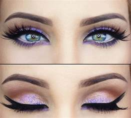 best eyeliner color for green stunning purple eye makeup best for green purple