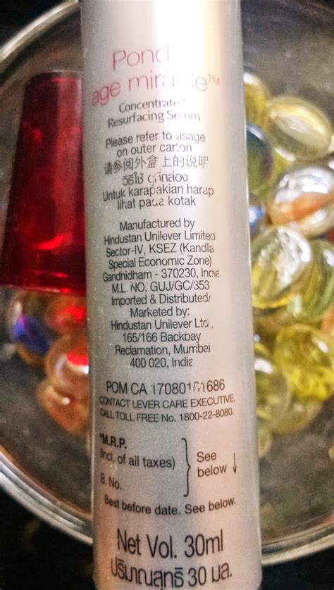 Ponds Age Miracle Serum Review beyond pond s age miracle concentrated resurfacing serum review