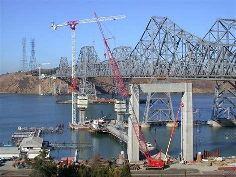 united states of america san francisco arrival at sorting center new carquinez bridge san francisco california united