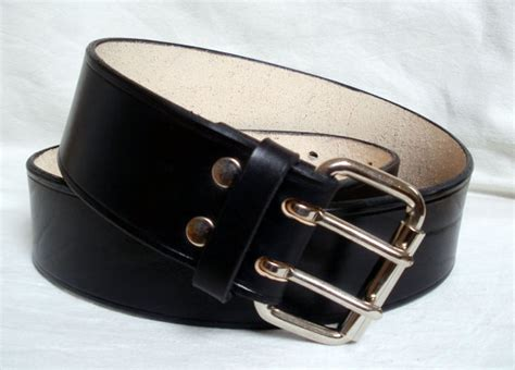 wide leather belt black for and 2 wide