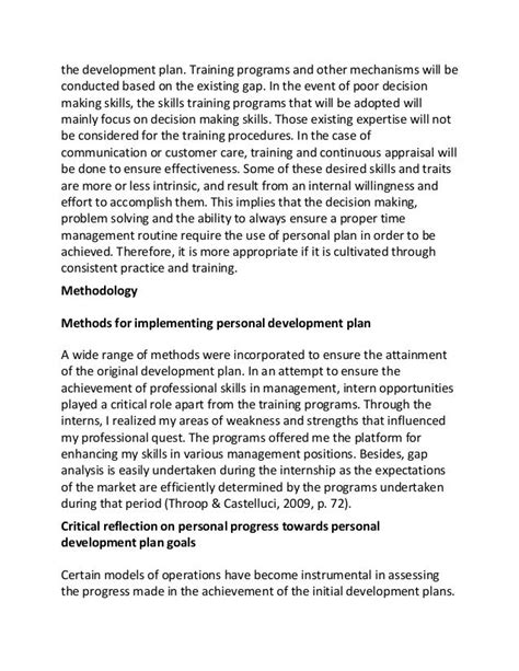 career plan essay sle personal development plan essay looking to start a new