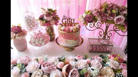 Baby Shower Pink And Gold by Pink And Gold Baby Shower