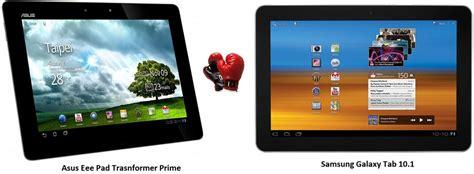 Tablet Samsung Vs Asus asus transformer prime vs samsung galaxy tab 10 1 specs comparison gadgetian