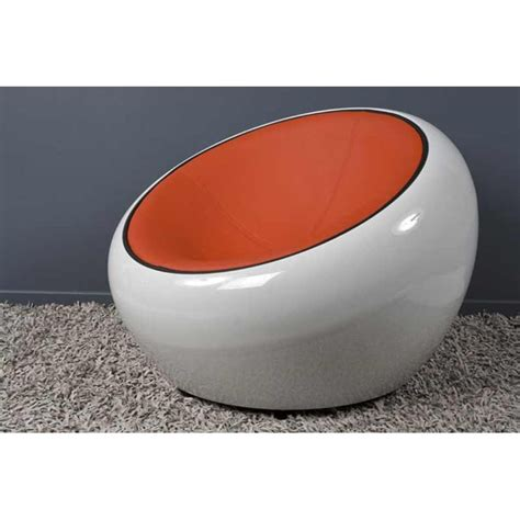 fauteuil 70 cm fauteuil design quot bubble quot 70cm blanc rouge