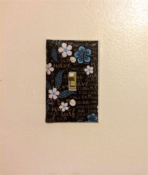 diy light switch covers diy custom light switch plates a little craft in your day