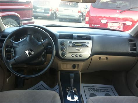 Civic Interior by 2003 Honda Civic Interior Pictures Cargurus