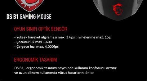 Msi Extended Gaming Mousepad Msi Interceptor Ds B1 Gaming Mouse msi interceptor ds b1 kablolu gaming mouse